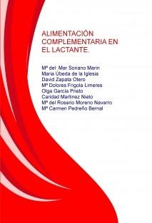 ALIMENTACIÓN COMPLEMENTARIA EN EL LACTANTE.