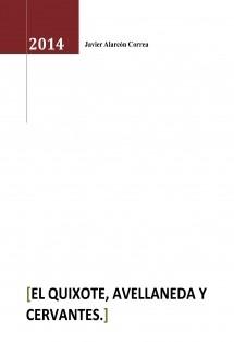 EL Quixote, Avellaneda y Cervantes