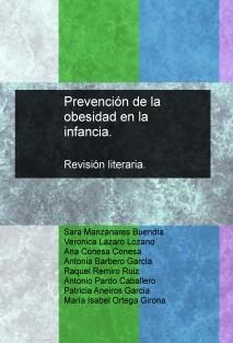 Prevención de la obesidad en la infancia. Revisión literaria.
