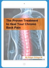 Libro The Proven Treatment to Heal Your Chronic Back Pain, autor Edgar Ortega