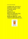 CURSO DE CALCULO ESTRUCTURAL CON CYPECAD  CON EJERCICIOS REALES RESUELTOS CON CYPECAD Y MANUALMENTE.