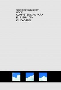 COMPETENCIAS PARA EL EJERCICIO CIUDADANO