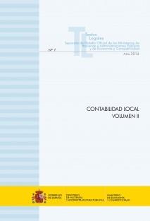 """TEXTO LEGAL Nº 7/2014 """"CONTABILIDAD LOCAL"""" (Actualización junio 2014) Volumen II"""