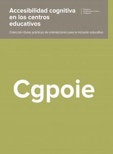 ACCESIBILIDAD COGNITIVA EN LOS CENTROS EDUCATIVOS