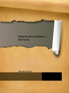 Sistema de inventario y Servicios