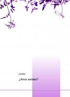 ¿Amor existes?