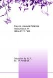 Revista Literaria Palabras Indiscretas n.14