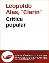 Crítica popular