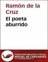 Libro El poeta aburrido, autor Biblioteca Miguel de Cervantes