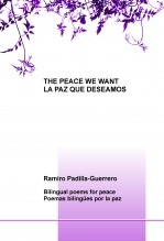 Libro THE PEACE WE WANT = LA PAZ QUE DESEAMOS, autor ilsiano