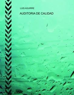 AUDITORIA DE CALIDAD