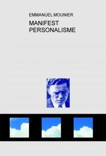 MANIFEST AL SERVEI DEL PERSONALISME