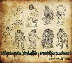 Catalálogo de Supuestos Cripto-Homínidos y seres mitológicos de los Bosques I