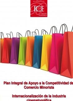 Boletín Económico. Información Comercial Española (ICE). Núm. 3064 Plan Integral de Apoyo a la Competitividad del Comercio Minorista