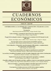 Libro Cuadernos Económicos. Información Comercial Española (ICE). Núm 89 Contribuciones a la Economía de la Innovación: análisis de la I+D+i empresarial, autor Ministerio de Economía y Empresa