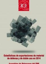 Libro Boletín Económico. Información Comercial Española (ICE). Núm. 3066 Estadísticas de exportaciones de material de defensa y de doble uso en 2014, autor Ministerio de Economía y Empresa