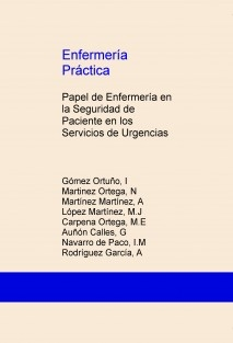 Enfermería Práctica: Papel de Enfermería en la Seguridad de Paciente en los Servicios de Urgencias
