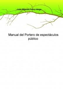 Manual del Portero de espectáculos público