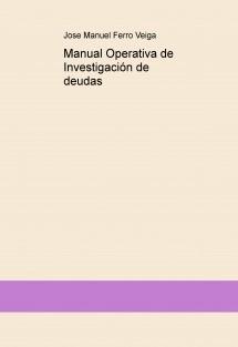 Manual Operativa de Investigación de deudas