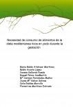 Necesidad de consumo de alimentos de la dieta mediterránea ricos en yodo durante la gestación