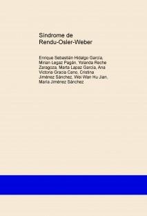Síndrome de Rendu-Osler-Weber