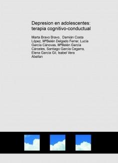 Depresion en adolescentes: terapia cognitivo-conductual