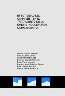 EFECTIVIDAD DEL CANNABIS   EN EL TRATAMIENTO DE LA ÉMESIS INDUCIDA POR QUIMIOTERAPIA