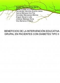 BENEFICIOS DE LA INTERVENCIÓN EDUCATIVA GRUPAL EN PACIENTES CON DIABETES TIPO II