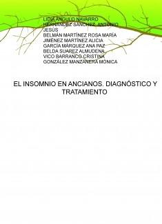 EL INSOMNIO EN ANCIANOS. DIAGNÓSTICO Y TRATAMIENTO