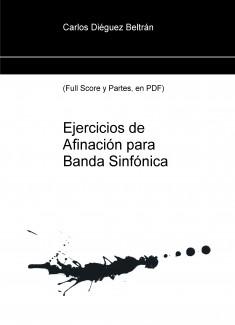 Ejercicios de Afinación para Banda Sinfónica (PDF)