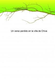 Un verso perdido en la villa de Chiva