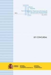"""TEXTO LEGAL Nº 5/2015 """"LEY CONCURSAL"""" (Actualización junio 2015)"""