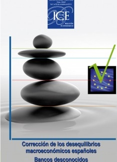 Boletín Económico. Información Comercial Española (ICE). Núm.3069                         Corrección de los desequilibrios macroeconómicos españoles
