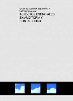 ASPECTOS ESENCIALES EN AUDITORÍA Y CONTABILIDAD