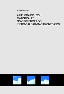 APIFLORA DE LOS MATORRALES NO-ESCLERÓFILOS ÍBERO-BALEAR-MACARONÉSICOS
