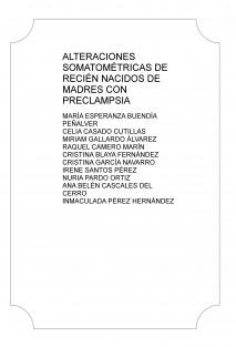 ALTERACIONES SOMATOMÉTRICAS DE RECIÉN NACIDOS DE MADRES CON PRECLAMPSIA