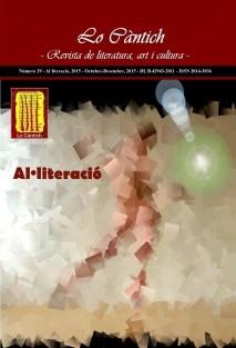 Lo Càntich - Número 29 - Al·literació, 2015