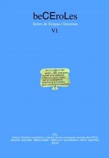 beCEroLes. Lletres de llengua i literatura, VI (2016)