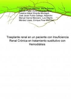 Trasplante renal en un paciente con Insuficiencia Renal Crónica en tratamiento sustitutivo con Hemodiálisis