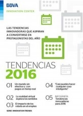 Libro Ebook: Tendencias innovadoras 2016, autor BBVA Innovation Center