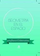 Libro GEOMETRÍA EN EL ESPACIO + CURSO INTENSIVO EXCLUSIVO 2019-2020, autor Sergio Barrio
