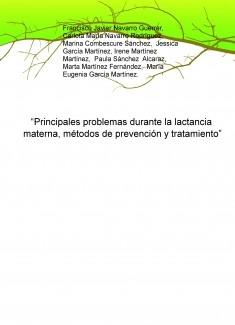 """""""Principales problemas durante la lactancia materna, métodos de prevención y tratamiento"""""""