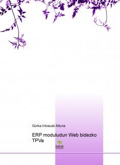 ERP moduludun Web bidezko TPVa