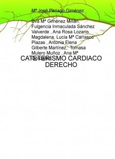 CATETERISMO CARDIACO DERECHO