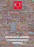 Revista de Economía. Información Comercial Española (ICE). Núm.885                       Tamaño de las pequeñas y medianas empresas españolas