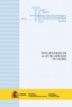 """TEXTO LEGAL Nº 12/2015 """"TEXTO REFUNDIDO DE LA LEY DE MERCADO DE VALORES"""""""