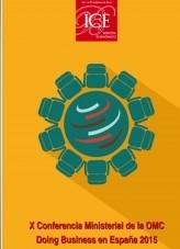 Libro Boletín Económico. Información Comercial Española (ICE). Núm. 3072 X Conferencia Ministerial de la OMC, autor Ministerio de Economía y Empresa