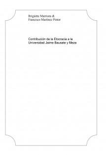 Contribución de la Etocracia a la Universidad Jaime Bausate y Meza