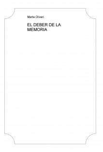 EL DEBER DE LA MEMORIA