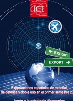 Boletín Económico. Información Comercial Española (ICE). Núm. 3073 Exportaciones españolas de material de defensa y doble uso en el primer semestre 2015
